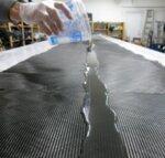 Парче карбонов плат 200gr/m2 - 25х120см