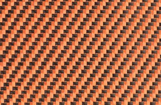 Карбонов плат - оранжев