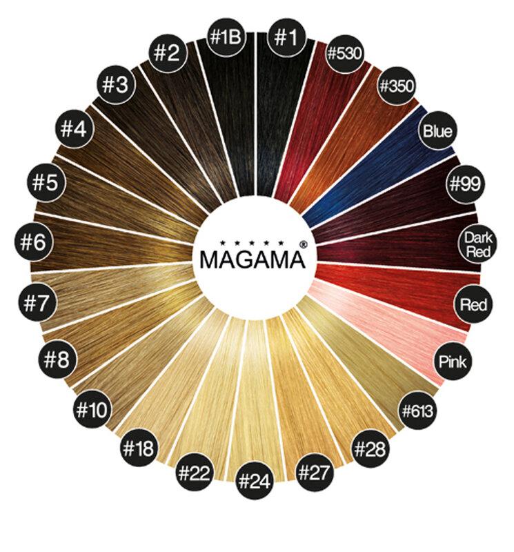 Коса на стикери MAGAMA 55 см.
