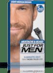 Гел оцветител - боя за мустаци и брада средно кафяво- Just for Men Light Medium Brown