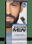 Гел оцветител - боя за мустаци и брада черно - Just for Men  Real Black