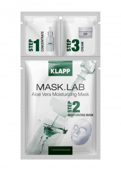 Хидратираща терапия с алое вера Klapp - Mask Lab Aloe Vera