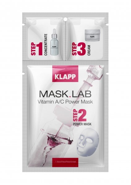 Маска за лице с витамин А и С Klapp - Mask Lab Vitamin A/C Power Mask