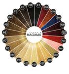 Коса на стикери MAGAMA 65 см. - ПАКЕТ 40 броя стикери - Цвят 613-Copy