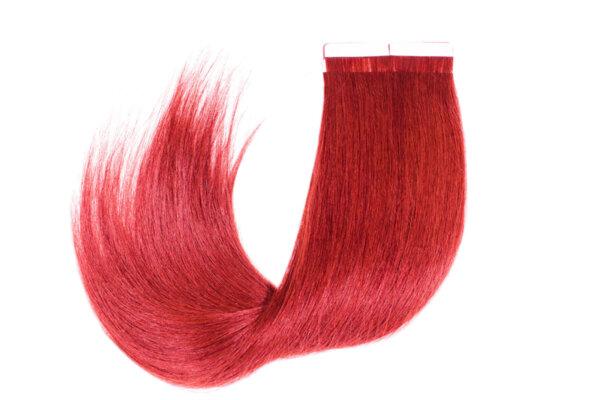 Коса на стикери MAGAMA 65 см. - ПАКЕТ 40 броя стикери - Цвят Red
