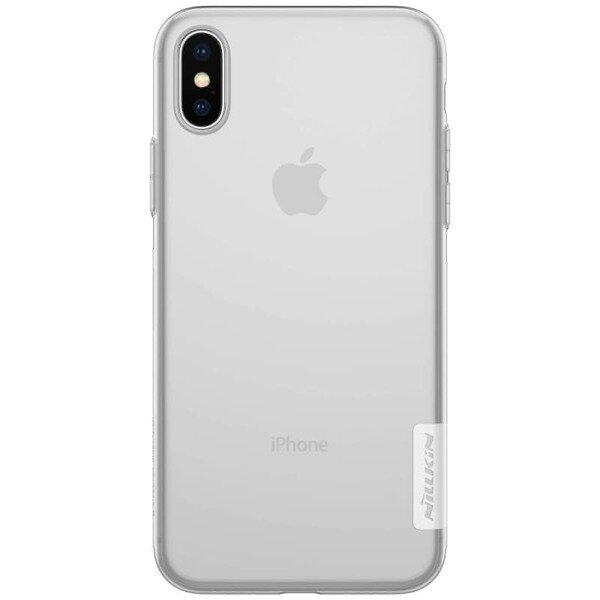 Калъф от Nillkin Nature TPU Case за iPhone X/XS - Transparent