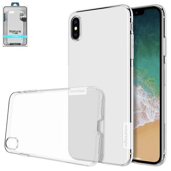 Калъф от Nillkin Nature TPU Case за iPhone XS Max - Transparent