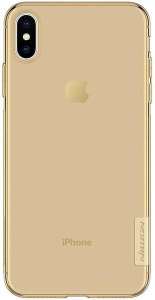 Калъф от Nillkin Nature TPU Case за  iPhone XS Max - Gold