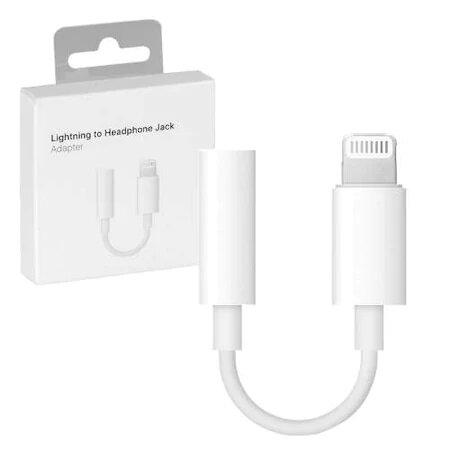 Адаптор Apple Lightning to 3.5mm Headphone Jack Adaptor