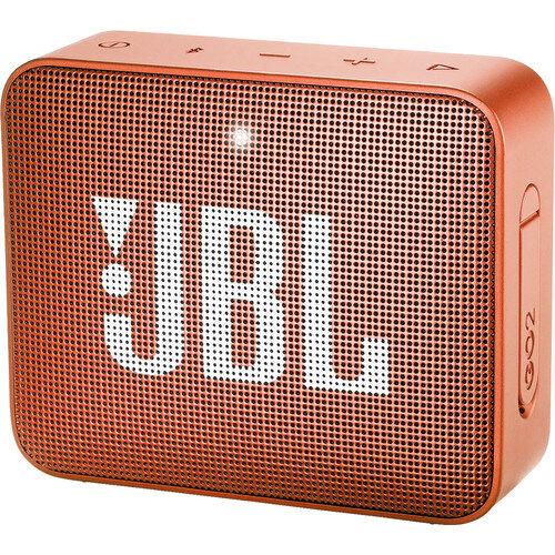 Оранжева безжична колонка  JBL GO 2 Portable Wireless Speaker (Coral Orange)