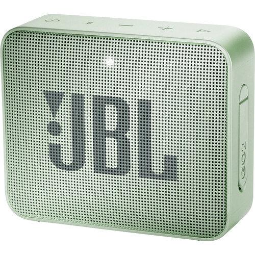 Зелена безжична колонка JBL GO 2 Portable Wireless Speaker (Seafoam Mint)