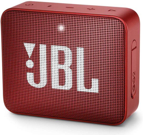 Червена безжична колонка  JBL GO 2 Portable Wireless Speaker (Red)
