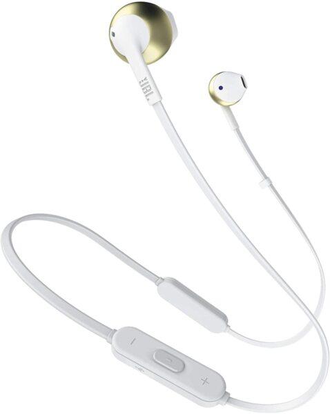 Сребърне безжични слушалки JBL T205BT Silver