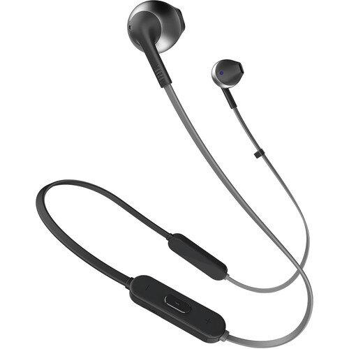 Черни безжични слушалки JBL T205BT Black