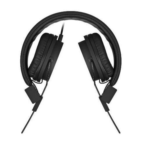 Слушалки MYSOUND SPEAK STREET BLACK ON-EAR STEREO HEADPHONE (WITH MICROPH