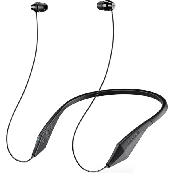 Черни Безжични слушалки Plantronics BackBeat 100 Bluetooth HF Black (EU Blister)