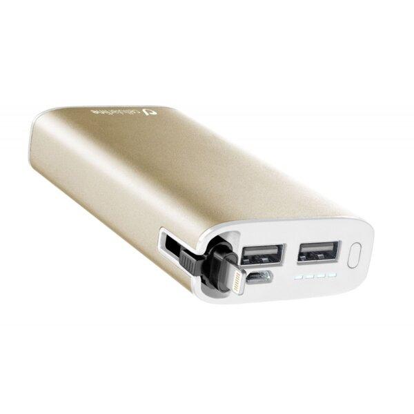 Външна Батерия CELLULAR POWER BANK APPLE 6700mAh GOLD