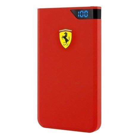 Червена Външна батерия PowerBank Ferrari 5000mAh Red