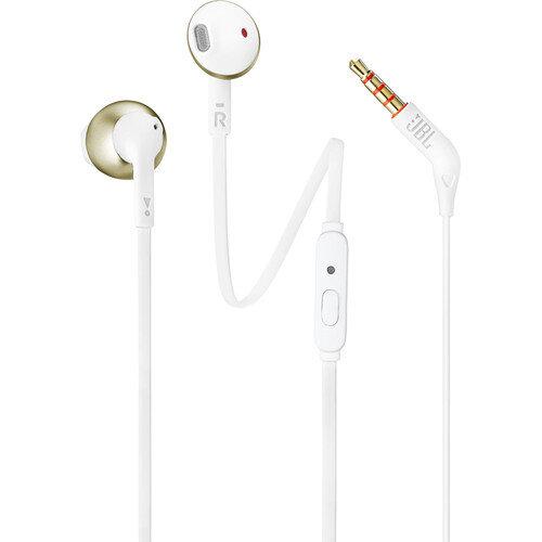 слушалки JBL T205 Earbud Headphones (Gold)