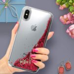 GUHCPXGLHFLRA Guess New Glitter Hearts Case for iPhone X ...