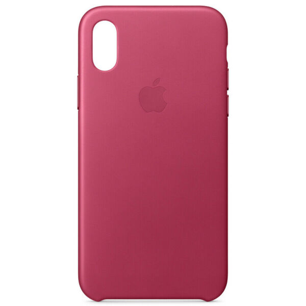 Kалъф от Аpple Leatcher case за Iphone X/XS - Pink