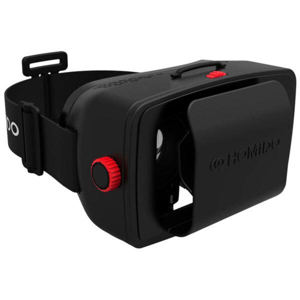 Очила за виртуална реалност Homido Virtual Reality Head Set, висококачествени оптични лещи, добър 3D ефект