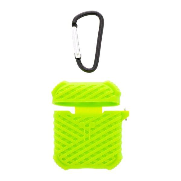 Handodo Silicone Case with Carbin for Apple Airpods Green (EU Blister)