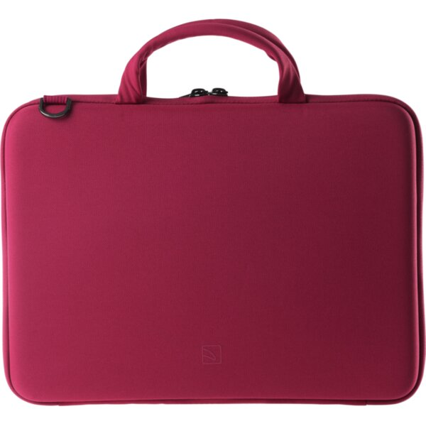 Чанта TUCANO DARKOLOR SLIM BAG 13-14 SEMI-RIGID BACK PANEL - RED