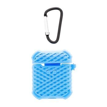 Handodo Silicone Case with Carbin for Apple Airpods Blue (EU Blister)