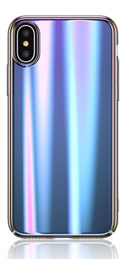 Калъф USAMS Sanz Hard Case за iPhone X/XS - Blue
