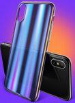 USAMS Sanz Hard Case Blue for iPhone X/XS