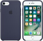 IPHONE 7 SILICONE CASE MID BLUE