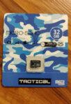Карта памет microSDHC 32GB Tactical Class 10 wo/a