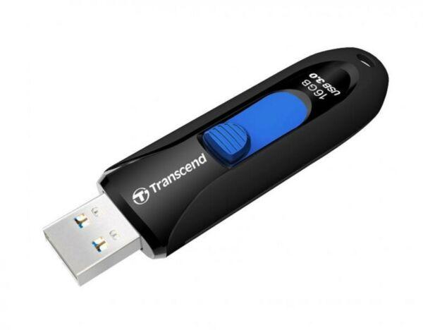 TRANSCEND 16GB USB 3.0 MUSTA