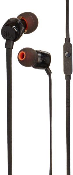 Черни Слушалки JBL T110 black