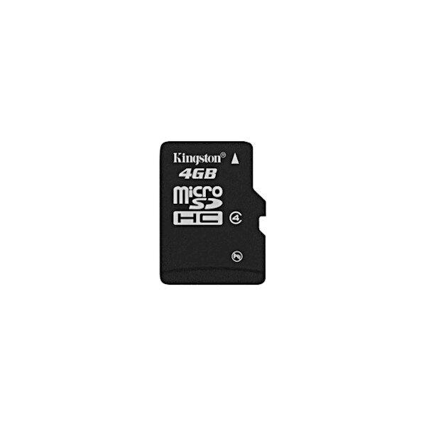 Kingston 4GB microSDHC Class 4 Flash Card