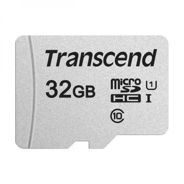 Transcend 32GB Uhs-I U1 MicroSD with Adapter