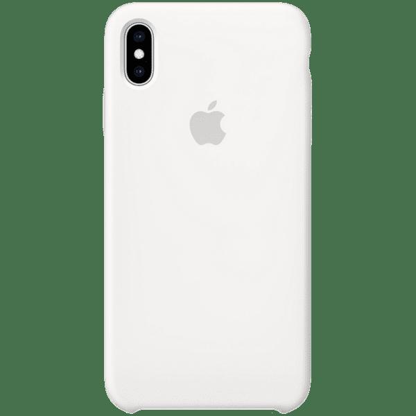 Калъф от Apple Silicone Case за iPhone XS Max  - White
