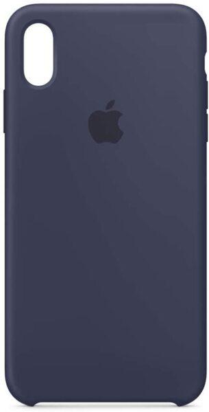 Kалъф от Apple Silicone Case за iPhone XS Max  - Midnight Blue