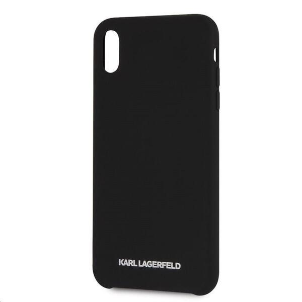 Kалъф от Karl Lagerfeld Sillicone Case за Iphone XR - Black
