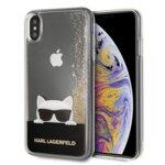 Karl Lagerfeld iPhone XS Max KLHCI65CHPEEGO gold hard case