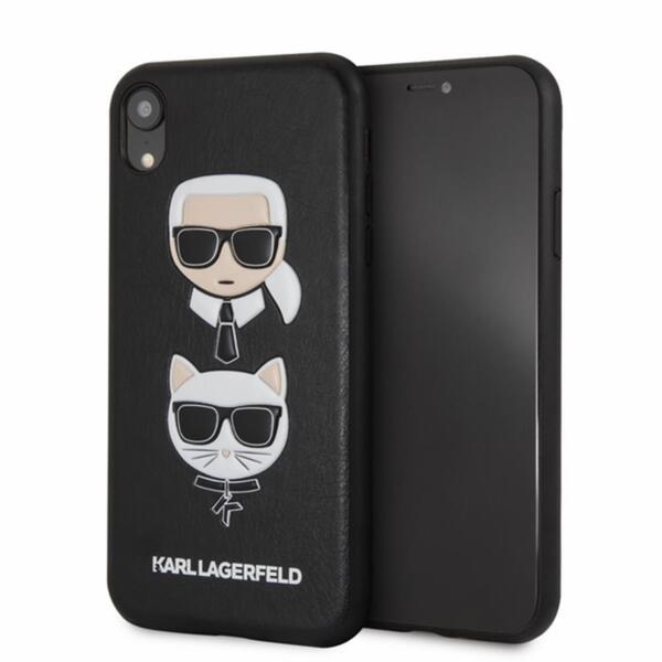 Калъф от Karl Lagerfeld за Iphone XR - Black
