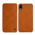 Nillkin for iPhone XR Qin Book Case Brown