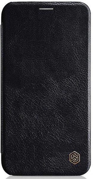 Черен кейс Nillkin за iPhone XR Qin Book Case Black