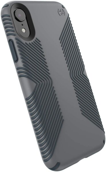 Сив кейс Speck за iPhone XR PRESIDIO GRIP (GRAPHITE GREY/CHARCOAL GREY)