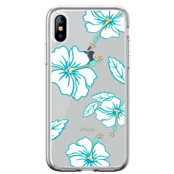 Зелен DV Flowering Crystal калъф за iPhonе Xr