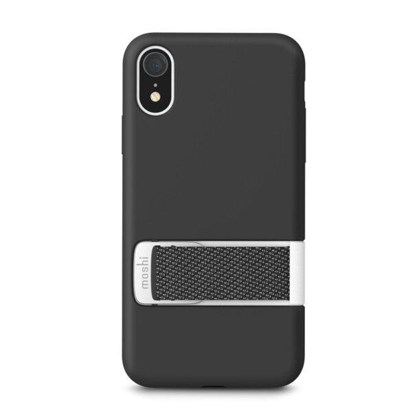 Черен кейс Moshi Capto за iPhone XR - Black