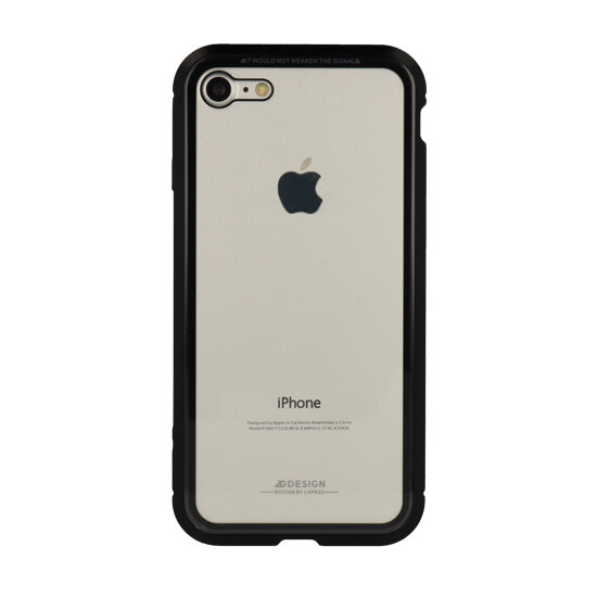 "Luphie - Bicolor Magnetic SWORD Case - Iphone XR (6,1"") czarny"