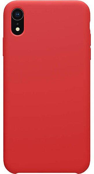 Червен силиконов кейс Nillkin Flex Pure Liquid Silicone Case Red на iPhone XR