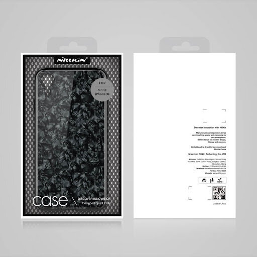 Nillkin SeaShell Hard Case Black for iPhone XR